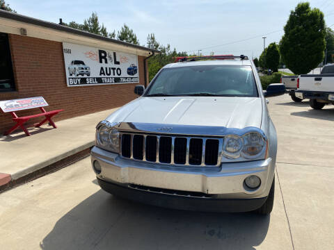 2007 Jeep Grand Cherokee for sale at R & L Autos in Salisbury NC