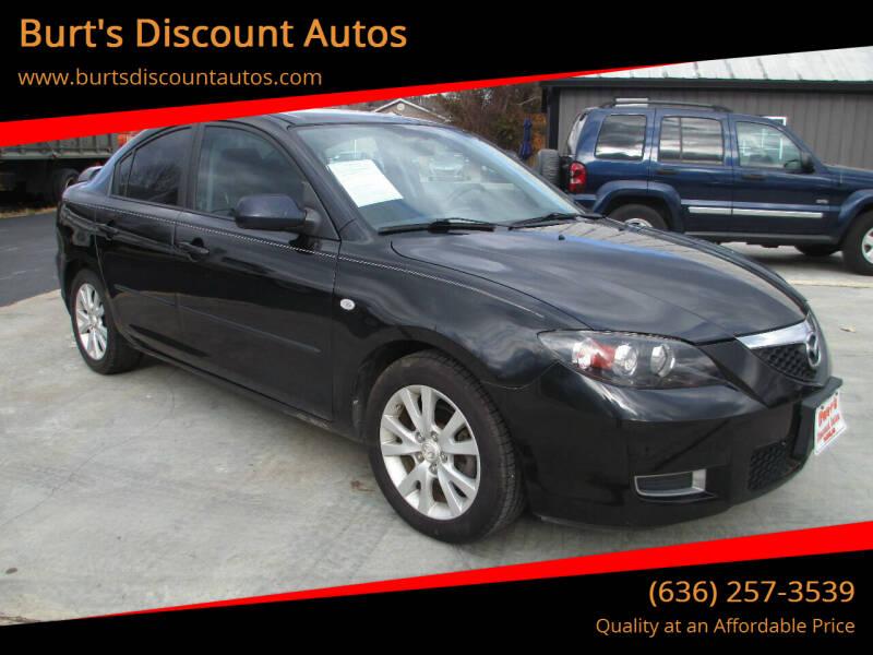2008 Mazda MAZDA3 for sale at Burt's Discount Autos in Pacific MO