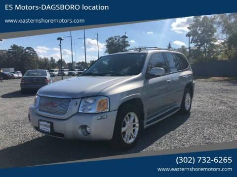 2007 GMC Envoy for sale at ES Motors-DAGSBORO location in Dagsboro DE