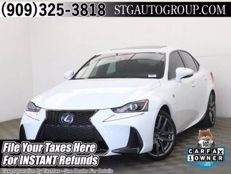 2020 Lexus IS 350 for sale at STG Auto Group in Montclair CA