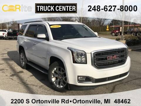 2016 GMC Yukon for sale at Carite Truck Center in Ortonville MI