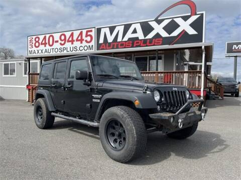 2015 Jeep Wrangler Unlimited for sale at Maxx Autos Plus in Puyallup WA