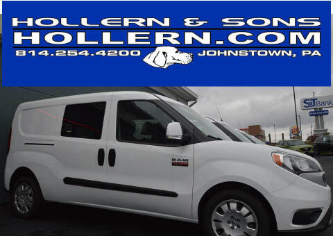 2019 RAM ProMaster City Cargo for sale at Hollern & Sons Auto Sales in Johnstown PA