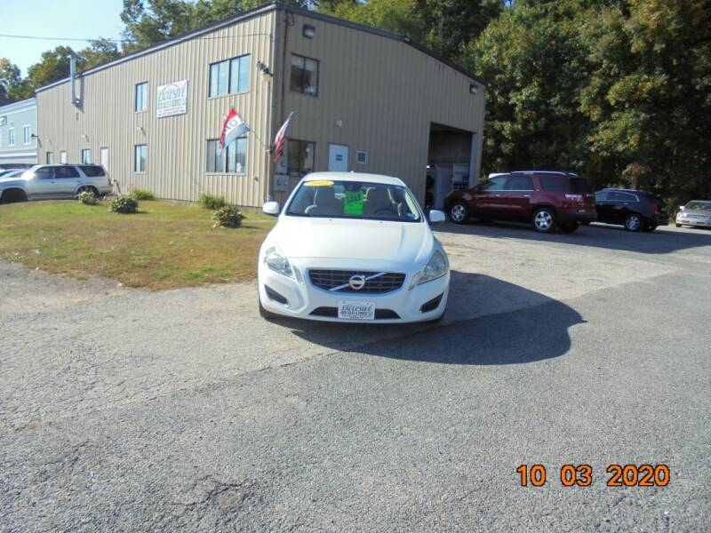 2012 Volvo S60 for sale at Exclusive Auto Sales & Service in Windham NH