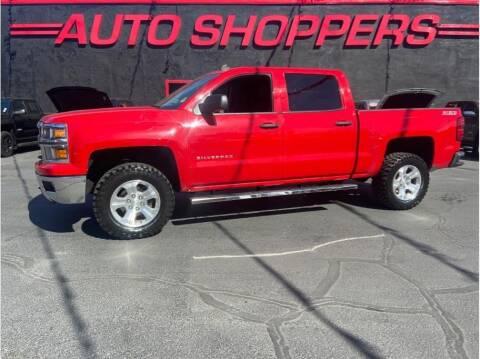 2014 Chevrolet Silverado 1500 for sale at AUTO SHOPPERS LLC in Yakima WA