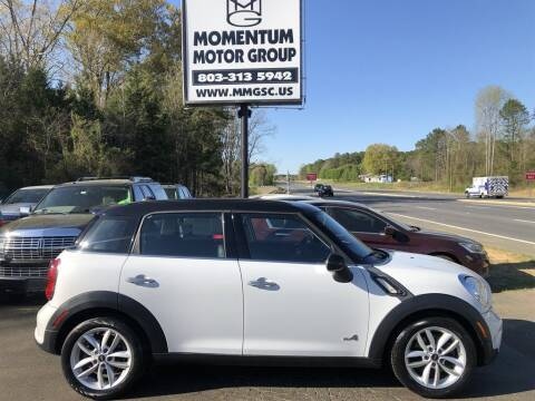 2014 MINI Countryman for sale at Momentum Motor Group in Lancaster SC