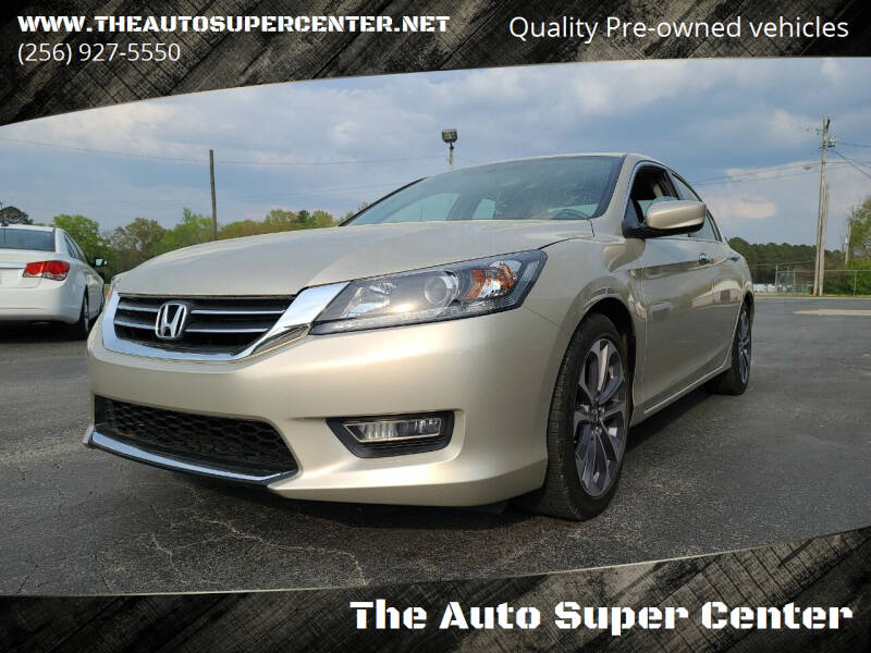 2013 Honda Accord for sale at The Auto Super Center in Centre AL