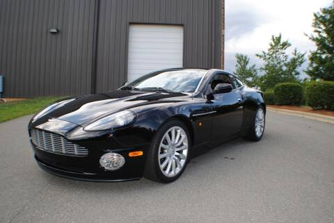 2003 Aston Martin V12 Vanquish for sale at Euro Prestige Imports llc. in Indian Trail NC
