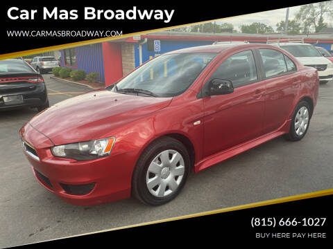 2011 Mitsubishi Lancer for sale at Car Mas Broadway in Crest Hill IL