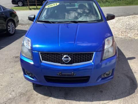 2012 Nissan Sentra for sale at Moose Motors in Morganton NC