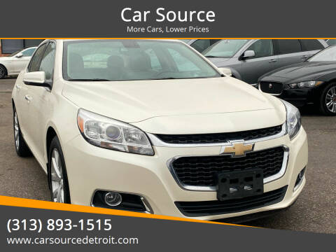 2014 Chevrolet Malibu for sale at Car Source in Detroit MI
