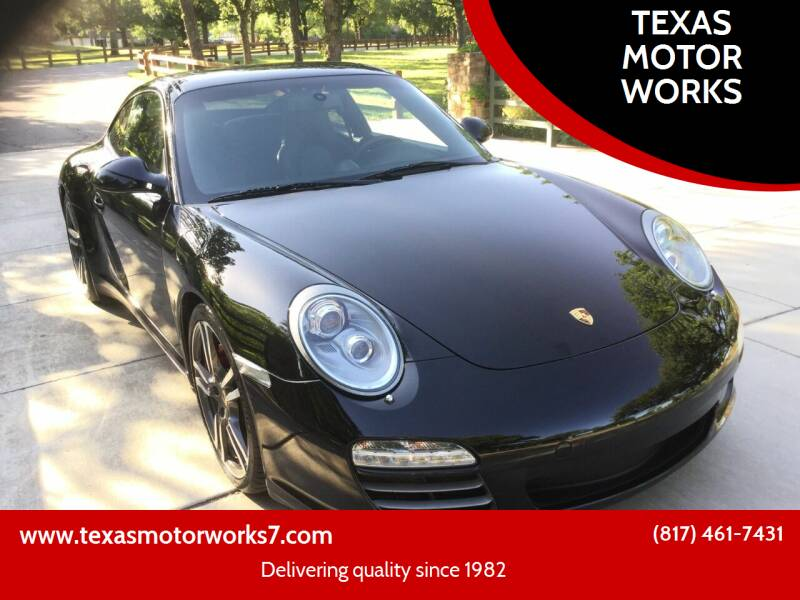 2011 Porsche 911 for sale at TEXAS MOTOR WORKS in Arlington TX