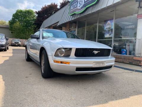 2005 Ford Mustang for sale at LOT 51 AUTO SALES in Madison WI