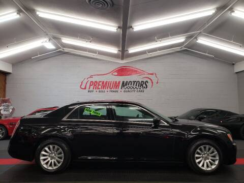 2014 Chrysler 300 for sale at Premium Motors in Villa Park IL