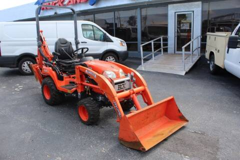 2016 Kubota BX25dlb for sale at Truck and Van Outlet - Miami Inventory in Miami FL