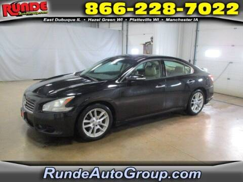 2010 Nissan Maxima for sale at Runde Chevrolet in East Dubuque IL