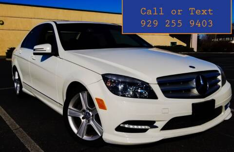 2011 Mercedes-Benz C-Class for sale at Ultimate Motors in Port Monmouth NJ