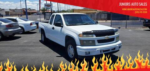 2007 Chevrolet Colorado for sale at Juniors Auto Sales in Tucson AZ