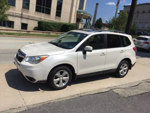 2014 Subaru Forester for sale at Saylor Motor Company in Somerset PA