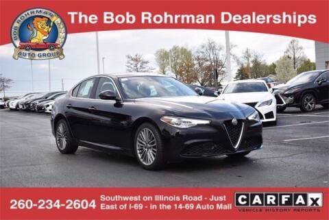 2018 Alfa Romeo Giulia for sale at BOB ROHRMAN FORT WAYNE TOYOTA in Fort Wayne IN