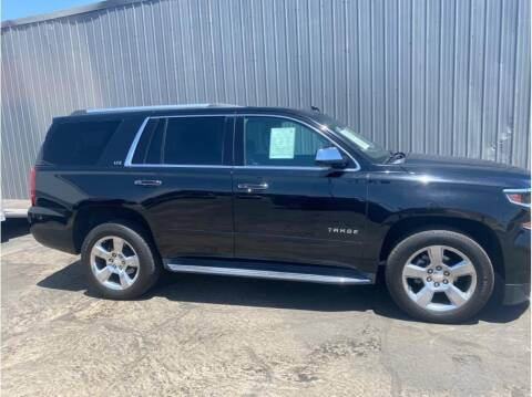 2016 Chevrolet Tahoe for sale at Dealers Choice Inc in Farmersville CA