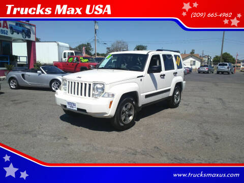 2008 Jeep Liberty for sale at Trucks Max USA in Manteca CA