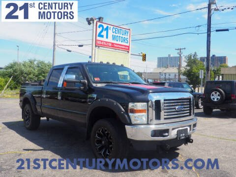 2010 Ford F-250 Super Duty for sale at 21st Century Motors in Fall River MA