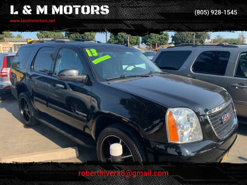2013 GMC Yukon for sale at L & M MOTORS in Santa Maria CA