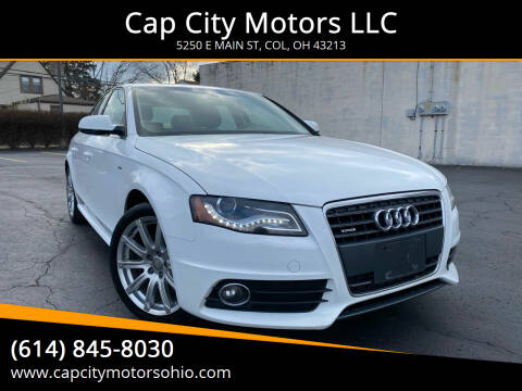 2012 Audi A4 for sale at Cap City Motors LLC in Columbus OH