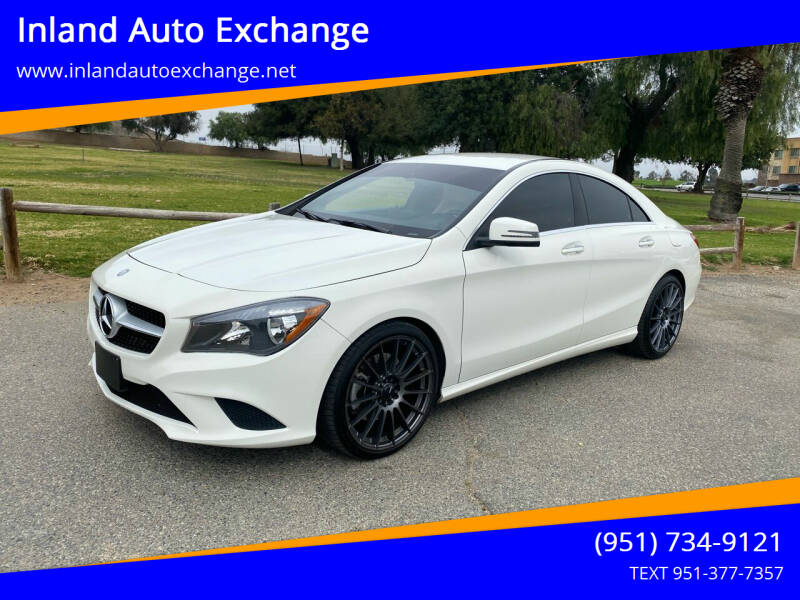 2016 Mercedes-Benz CLA for sale at Inland Auto Exchange in Norco CA