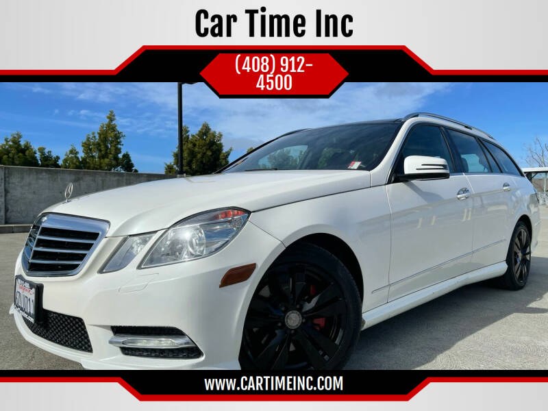 2013 Mercedes-Benz E-Class for sale at Car Time Inc in San Jose CA