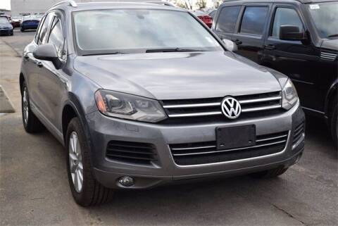 2013 Volkswagen Touareg for sale at BOB ROHRMAN FORT WAYNE TOYOTA in Fort Wayne IN