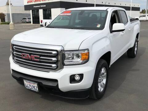 2018 GMC Canyon for sale at Dow Lewis Motors in Yuba City CA