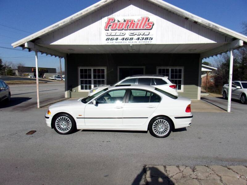 2001 BMW 3 Series for sale at Foothills Used Cars LLC in Campobello SC