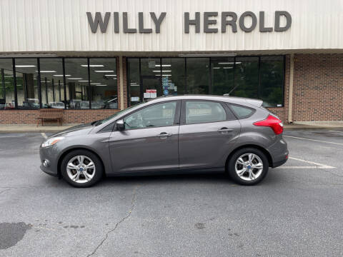 2012 Ford Focus for sale at Willy Herold Automotive in Columbus GA
