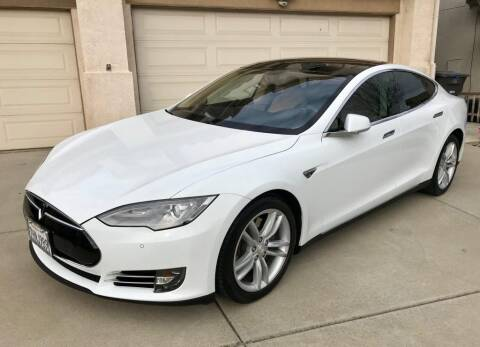 2014 Tesla Model S for sale at Advantage Auto Brokers in Hasbrouck Heights NJ