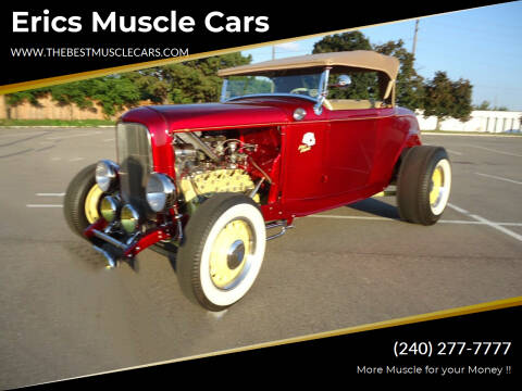1932 Ford Hi boy Street Rod for sale at Erics Muscle Cars in Clarksburg MD