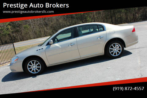2007 Buick Lucerne for sale at Prestige Auto Brokers in Raleigh NC