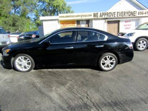 2012 Nissan Maxima for sale at American Auto Group Now in Maple Shade NJ