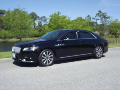 2017 Lincoln Continental for sale at Classic Car Deals in Cadillac MI