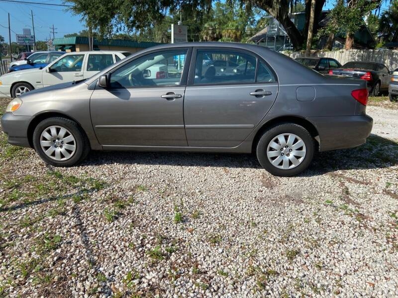 2004 Toyota Corolla for sale at D & D Detail Experts / Cars R Us in New Smyrna Beach FL