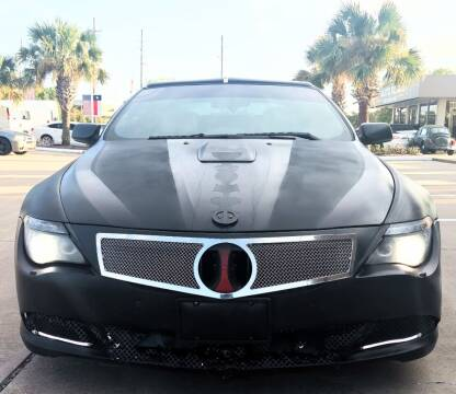 2009 BMW 6 Series for sale at Car Ex Auto Sales in Houston TX