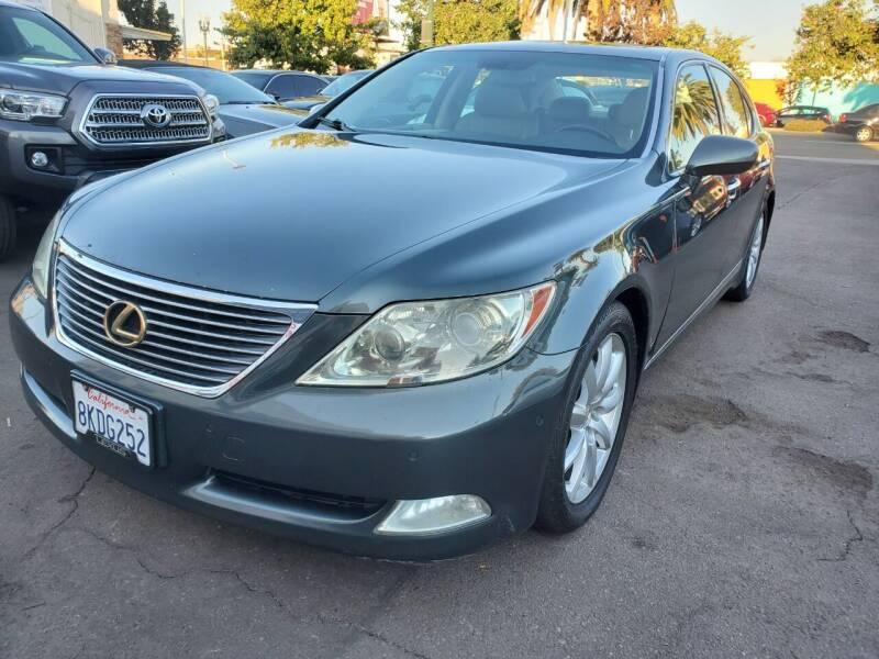 2007 Lexus LS 460 for sale at Convoy Motors LLC in National City CA