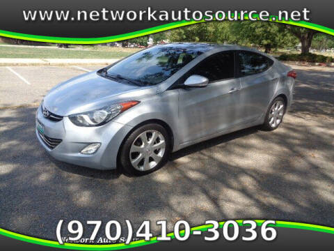 2012 Hyundai Elantra for sale at Network Auto Source in Loveland CO