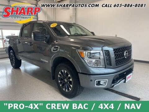2017 Nissan Titan for sale at Sharp Automotive in Watertown SD
