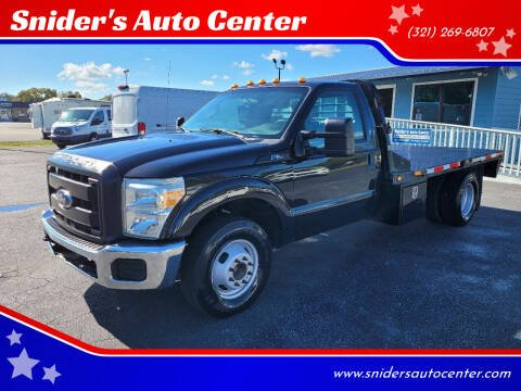2015 Ford F-350 Super Duty for sale at Snider's Auto Center in Titusville FL