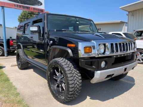 2008 HUMMER H2 for sale at Lumpy's Auto Sales in Oklahoma City OK