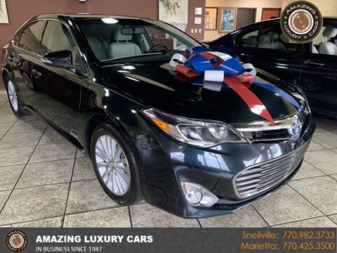2015 Toyota Avalon Hybrid for sale at Amazing Luxury Cars in Snellville GA