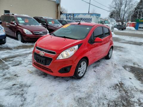 2013 Chevrolet Spark for sale at MOE MOTORS LLC in South Milwaukee WI