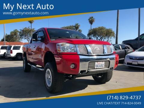 2006 Nissan Titan for sale at My Next Auto in Anaheim CA